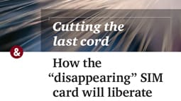 Cutting the last cord