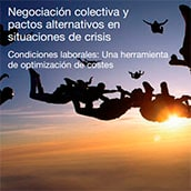 Collective negotiation and review of alternative agreements during crisis situations